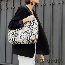 Malababa Casual Style Office Style Totes