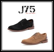 J75 by JUMP Plain Toe Suede Plain Oxfords