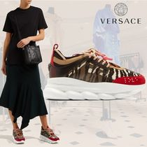 VERSACE Other Animal Patterns Low-Top Sneakers