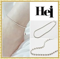 Hei Casual Style Unisex Chain Party Style Silver Office Style