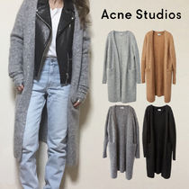 Acne Casual Style Unisex Wool Nylon Street Style Long Sleeves