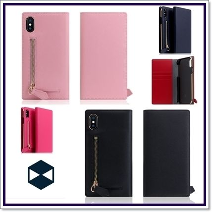 Leather iPhone X iPhone XS iPhone 11 Pro Smart Phone Cases