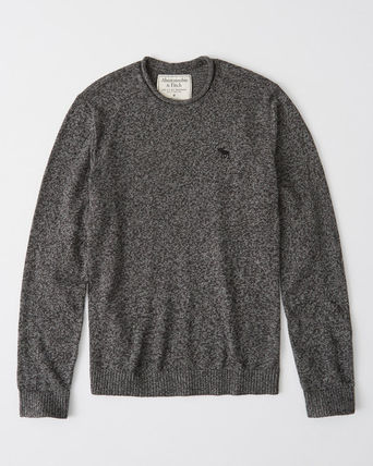 Abercrombie & Fitch Sweaters Cotton Logo Surf Style Sweaters