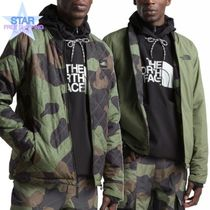 THE NORTH FACE Short Camouflage Unisex Coach Jackets Coach Jackets