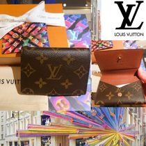 Louis Vuitton Monogram Unisex Leather Special Edition Card Holders