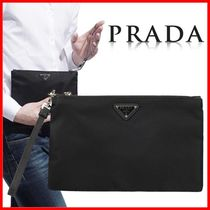 PRADA Nylon Clutches