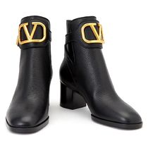 VALENTINO VLOGO Leather Boots Boots