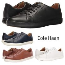 Cole Haan Street Style Plain Leather Sneakers