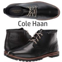 Cole Haan Plain Leather Boots