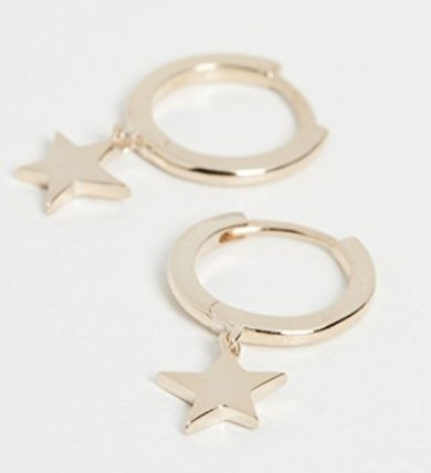 Star Casual Style Party Style Elegant Style Earrings