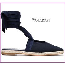 J W ANDERSON Lace-up Suede Leather Shoes