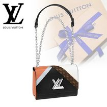 Louis Vuitton TWIST Monogram Casual Style Canvas Blended Fabrics 2WAY Chain