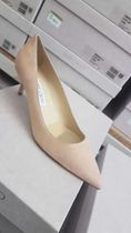 Jimmy Choo Casual Style Suede Plain Pin Heels Office Style