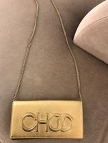 Jimmy Choo 3WAY Chain Leather Party Style Elegant Style Clutches