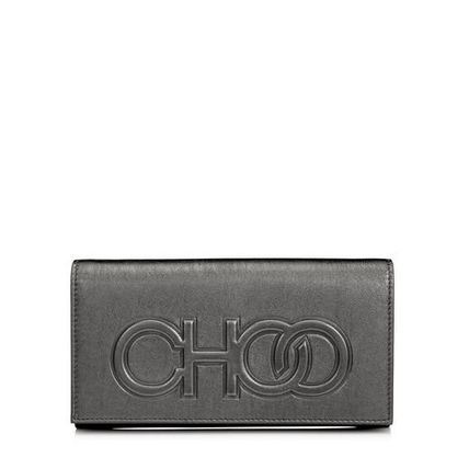 Jimmy Choo Casual Style Lambskin 3WAY Chain Leather Party Style