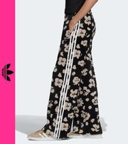 adidas Flower Patterns Casual Style Street Style Pants