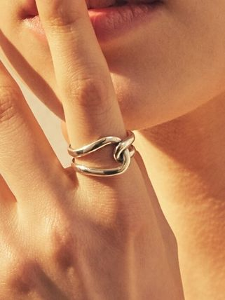 Party Style Silver Elegant Style Rings