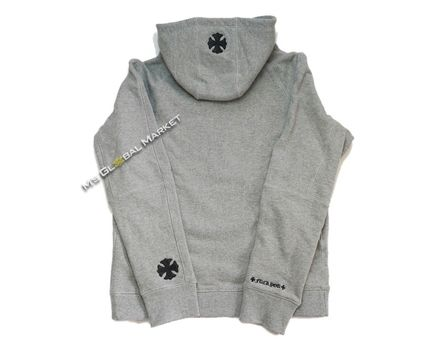 CHROME HEARTS Hoodies Unisex Long Sleeves Cotton Hoodies