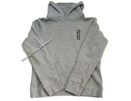 CHROME HEARTS Hoodies Unisex Long Sleeves Cotton Hoodies 2