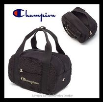 CHAMPION Casual Style Faux Fur Street Style Backpacks