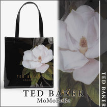 TED BAKER Flower Patterns Casual Style Party Style PVC Clothing