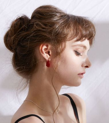 Casual Style Party Style Earrings