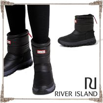 River Island Casual Style Faux Fur Blended Fabrics Boots Boots
