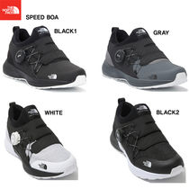 THE NORTH FACE Unisex Studded Street Style Plain Sneakers