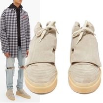 FEAR OF GOD Suede Blended Fabrics Plain Sneakers