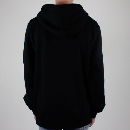 STUSSY Pullovers Sweat Street Style Long Sleeves Logo Skater Style