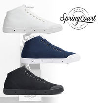 Spring Court Plain Sneakers