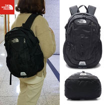 THE NORTH FACE WHITE LABEL Unisex Street Style Bag in Bag A4 2WAY Plain Backpacks