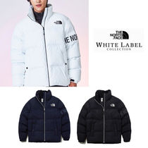 THE NORTH FACE WHITE LABEL Short Unisex Plain Down Jackets
