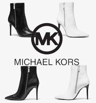 Michael Kors Casual Style Plain Leather Pin Heels Party Style