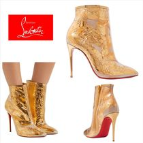 Christian Louboutin Casual Style Pin Heels Party Style PVC Clothing