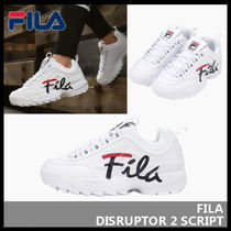FILA Disruptor 2 Casual Style Unisex Street Style Low-Top Sneakers