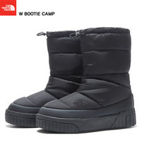 THE NORTH FACE WHITE LABEL Plain Toe Mountain Boots Rubber Sole Casual Style Studded