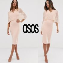 ASOS Tight Sleeveless V-Neck Cropped Plain Medium Party Style