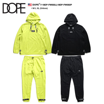 Unisex Street Style Oversized Co-ord Sweats Two-Piece Sets
