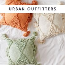 Urban Outfitters Tassel Fringes Geometric Patterns Ethnic Decorative Pillows
