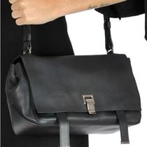 Proenza Schouler Casual Style Calfskin Plain Office Style Elegant Style