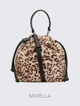 MARELLA Leopard Patterns Shoulder Bags