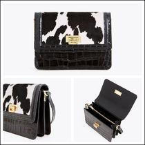 Uterque Casual Style Spawn Skin Other Animal Patterns Leather