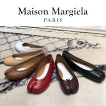 Maison Margiela Tabi Plain Leather Flats