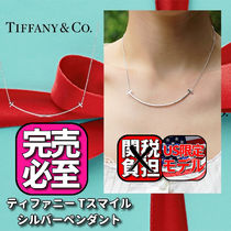 Tiffany & Co Tiffany T Casual Style Chain Party Style Silver Office Style