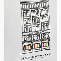 HUDSONS BAY COMPANY Stripes Casual Style Totes
