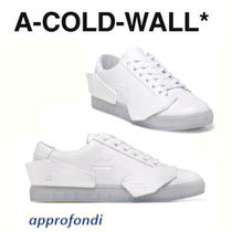 A-COLD-WALL Street Style Plain Leather Sneakers