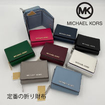 Michael Kors JET SET TRAVEL Saffiano Folding Wallets
