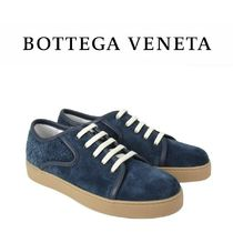 BOTTEGA VENETA Suede Plain Sneakers