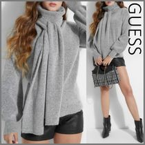Guess Casual Style Wool Street Style Long Sleeves Plain